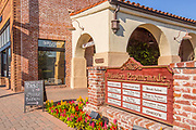 Mission Promenade Shopping Mall in San Juan Capistrano