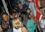 **EXCLUSIVE**.LeBron James, Jeremy Pivens..LeBron James celebrating his Free Agent Status with his celebrity friends..Avenue Nightclub..New York, NY, USA..Thursday, June 24, 2010..Photo By iSnaper App/ CelebrityVibe.com.To license this image please call (212) 410 5354; or Email: CelebrityVibe@gmail.com ; .website: www.CelebrityVibe.com.