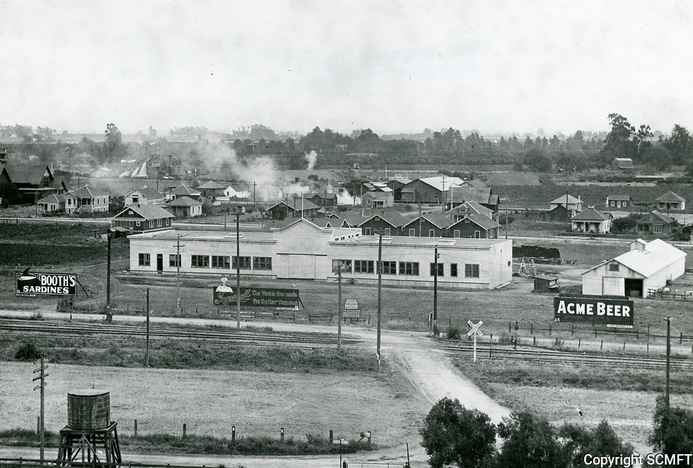 1912 Essanay Film Manufacturing Co. in Niles, CA