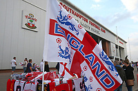 Football - 2021/ 2022  - Women's World Cup UEFA Qualifer - England Women vs. North Macedonia - St Mary's Stadium - Friday 17th September<br /> <br /> A general view outside St Mary's stadium<br /> <br /> COLORSPORT/Shaun Boggust