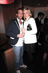 DAMIAN & TARA SONING at a birthday party for Laurie Bilton held at Maddox Club, 2 Mill Street, London on 5th February 2010.