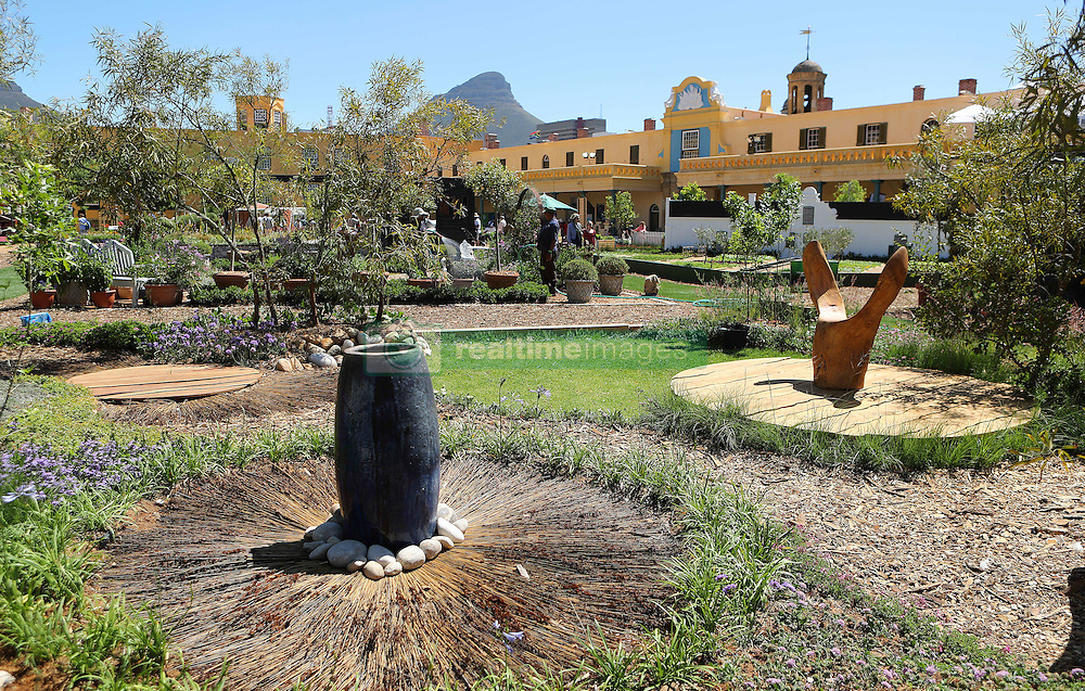 Circles in nature during the Cape Town Flower Show held at the Castle of Good Hope between the 27th and the 30th October 2016.<br /> <br /> Photo by Ron Gaunt/ RealTime Images