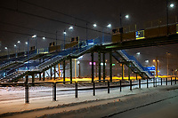 Bialystok, 16.01.2021. Gwaltowny atak zimy, w ciagu paru godzin przybylo kilkanascie centymetrow sniegu fot Michal Kosc / AGENCJA WSCHOD
