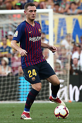 August 15, 2018 - Barcelona, Spain - Thomas Vermaelen during the match between FC Barcelona and C.A. Boca Juniors, corresponding to the Joan Gamper trophy, played at the Camp Nou, on 15th August, 2018, in Barcelona, Spain. (Credit Image: © Joan Valls/NurPhoto via ZUMA Press)