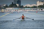 Plovdiv BULGARIA. 2017 FISA. Rowing World U23 Championships. <br /> CHI BLM1X. MEDINA BONILLA, Marcelo<br /> Wednesday. PM,  Heats 17:41:05  Wednesday  19.07.17   <br /> <br /> [Mandatory Credit. Peter SPURRIER/Intersport Images].