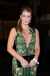 Lady Kitty Spencer on the front row during the Julien Macdonald Autumn/Winter 2017 London Fashion Week show at Goldsmith's Hall, London.PRESS ASSOCIATION Photo. Picture date: Saturday February 18th, 2017. Photo credit should read: Matt Crossick/PA Wire.