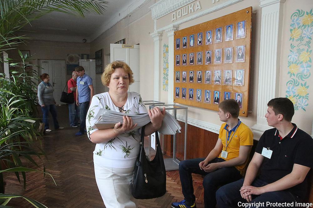 Ukraine Diary: Sunday 25 May 2014 Ukrainian Presidential Elections<br /> Photo Bohdan Warchomij