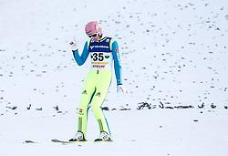 11.01.2014, Kulm, Bad Mitterndorf, AUT, FIS Ski Flug Weltcup, Bewerb, im Bild Severin Freund (GER) // Severin Freund (GER) during the FIS Ski Flying World Cup at the Kulm, Bad Mitterndorf, Austria on <br /> 2014/01/11, EXPA Pictures © 2014, PhotoCredit: EXPA/ JFK
