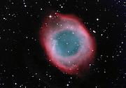 The Helix nebula, NGC 7293, in the constellation Aquarius.