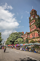 The Yangon High Court is a beautiful old colonial building in Yangon.