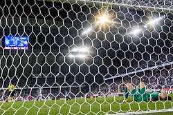 """August 3, 2017 - Poznan, Poland - Goalkeeper Matus Putnocky of Lech show the delusion after the UEFA Europa League Third Qualifying Round Second Leg match between Lech PoznaÅ"""" and FC Utrecht at Stadio Miejski, on August 3, 2017 in PoznaÅ"""", Poland. (Credit Image: © Foto Olimpik/NurPhoto via ZUMA Press)"""