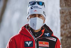 31.12.2020, Olympiaschanze, Garmisch Partenkirchen, GER, FIS Weltcup Skisprung, Vierschanzentournee, Garmisch Partenkirchen, Qualifikation, Herren, im Bild Sportlicher Leiter Ski Nordisch Mario Stecher (AUT) // Sports manager Nordic skiing Mario Stecher of Austria during qualification jump of men's Four Hills Tournament of FIS Ski Jumping World Cup at the Olympiaschanze in Garmisch Partenkirchen, Germany on 2020/12/31. EXPA Pictures © 2020, PhotoCredit: EXPA/ JFK