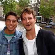 NLD/Amsterdam/20050808 - Deelnemers Sterrenslag 2005, Robert de la Haije en Erik Bouwman