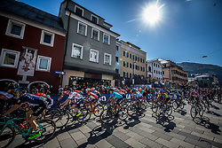 Start in Kufstein during the Men Under 23 Road Race 179.9km Race from Kufstein to Innsbruck 582m at the 91st UCI Road World Championships 2018 / RR / RWC / on September 28, 2018 in Innsbruck, Austria.  Photo by Vid Ponikvar / Sportida
