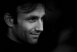 November 20, 2018 - Valencia, Spain - Johann Zarco (5) of France and Red Bull KTM Factory Racing during the test of the new MotoGP season 2019 at Ricardo Tormo Circuit in Valencia, Spain on 20th Nov 2018..(Editors note: this image has been converted to black and white) (Credit Image: © Jose Breton/NurPhoto via ZUMA Press)