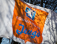 ROSMALEN -Vlag NGF Committed to Jeugd . Golfclub Rosmalen. COPYRIGHT KOEN SUYK