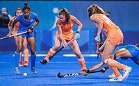 TOKIO - Lidewij Welten (NED) tijdens de wedstrijd dames , Nederland-India (5-1) tijdens de Olympische Spelen   .   COPYRIGHT KOEN SUYK