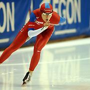 NLD/Heerenveen/20051203 - World Cup schaatsen 2005, Maren Haugli