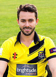 Jack Taylor of Gloucestershire Cricket poses for a headshot in the NatWest T20 Blast kit - Mandatory by-line: Robbie Stephenson/JMP - 04/04/2016 - CRICKET - Bristol County Ground - Bristol, United Kingdom - Gloucestershire  - Gloucestershire Media Day
