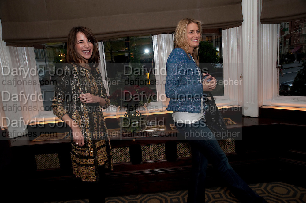 Graydon and Anna Carter host a lunch for Carolina Herrera to celebrate the ipening of her new shop on Mount St. .The Connaught. London. 20 January 2010