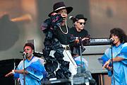 Glastonbury, Lauryn Hill performs on stage during day three of the lGlastonbury Festival 2019