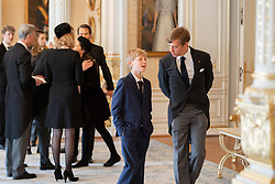 Guest at reception at the Palace Grand-Ducal after funeral of Grand Duke Jean of Luxembourg at Cathedral Notre-Dame of Luxembourg in Luxembourg City, Luxembourg on May 4, 2019. Photo by Cour grand-ducale/Sophie Margue/Pool/ABACAPRESS.COM