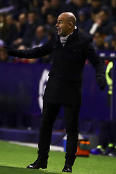 January 10, 2019 - Valencia, Spain - Levante UD manager PACO LOPEZ    during  spanish King Cup  match between Levante UD v FC Barcelona  at Ciutat de Valencia  Stadium on January  10, 2018. (Photo by Jose Miguel Fernandez/NurPhoto) (Credit Image: © Jose Miguel Fernandez/NurPhoto via ZUMA Press)