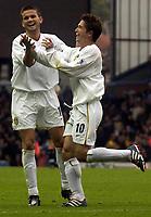Fotball, Premiership. Eirik Bakke, Leeds  og Harry Kewell