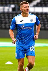 Lewis Hardcastle of Barrow - Mandatory by-line: Ryan Crockett/JMP - 05/09/2020 - FOOTBALL - Pride Park Stadium - Derby, England - Derby County v Barrow - Carabao Cup