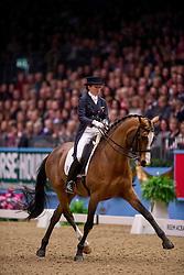 Crisp Nikki (GBR) - Pasoa<br /> Kur - Reem Acra FEI World Cup Dressage Qualifier - The London International Horse Show Olympia - London 2012<br /> © Hippo Foto - Jon Stroud