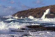 Waves, East Coast, Oahu, Hawaii<br />