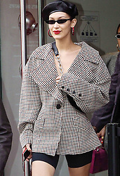 Hailey Baldwin, Courtney Love and Amber Valetta are among the celebrity sightings in Paris this week. 27 Sep 2017 Pictured: Bella Hadid. Photo credit: MEGA TheMegaAgency.com +1 888 505 6342
