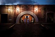 Havana, 01 de Junho de 2011..Fortaleza de San Carlos de la Cabana, onde todas as noites acontece o Canonazo, disparo de canhao que ocorre as 21:00...Foto: LEO DRUMOND / NITRO