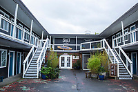 Salt Hotel in Ilwaco, WA.