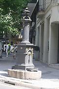 Public water tap. Barcelona. Spain 2013