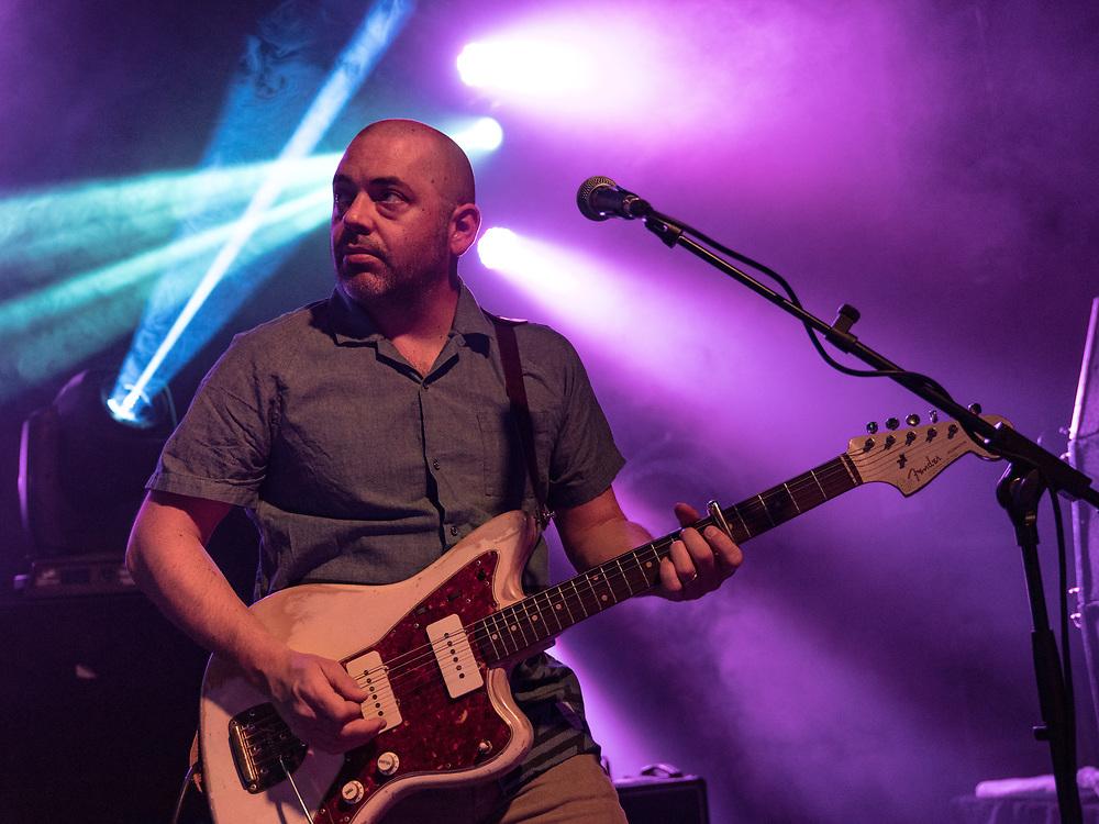 Ross Godfrey of British trip-hop band Morcheeba at Gibson Club during the W-Festival in Frankfurt