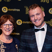 NLD/Amsterdam/20181011 - Televizier Gala 2018, Kaj Gorgels en zijn moeder
