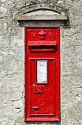Wall Mounted Post-Box, England