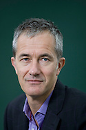 British novelist and critic Geoff Dyer pictured at the Edinburgh International Book Festival where he talked about his new book. The three-week event is the world's biggest literary festival and is held during the annual Edinburgh Festival. The 2011 event featured talks and presentations by more than 500 authors from around the world..