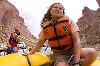 Whitewater rafting in Cataract Canyon in Canyonlands National Park, UT.