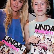NLD/Amsterdam/20120702 - Presentatie Linda: Meiden, Geraldine Kemper en Sigrid ten Napel