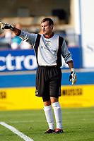 Photo: Marc Atkins.<br />Luton Town v Fulham. Pre Season Friendly. 21/07/2006.<br />Luton Town FC Goalkeeper Marlon Beresford
