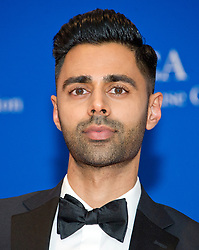 Comedian Hasan Minhaj, who will serve as the host for the evening, arrives for the 2017 White House Correspondents Association Annual Dinner at the Washington Hilton Hotel in Washington, DC, USA, on Saturday April 29, 2017. Photo by Ron Sachs/CNP/ABACAPRESS.COM