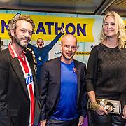 NLD/Rotterdam/20170319 - inloop De Marathon de Musical, Christine van Straalen en .........