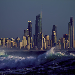 Gold Coast City Surfers Paradise, Landscape by jaydon Cabe, taken from Burleigh Heads