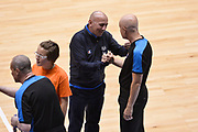 DESCRIZIONE : Trieste Nazionale Italia Uomini Torneo internazionale Italia Serbia Italy Serbia<br /> GIOCATORE : Luca Dalmonte Paolo Taurino Arbitro<br /> CATEGORIA : Arbitro Pregame Fairplay<br /> SQUADRA : Italia Italy Arbitro<br /> EVENTO : Torneo Internazionale Trieste<br /> GARA : Italia Serbia Italy Serbia<br /> DATA : 05/08/2014<br /> SPORT : Pallacanestro<br /> AUTORE : Agenzia Ciamillo-Castoria/Max.Ceretti<br /> Galleria : FIP Nazionali 2014<br /> Fotonotizia : Trieste Nazionale Italia Uomini Torneo internazionale Italia Serbia Italy Serbia