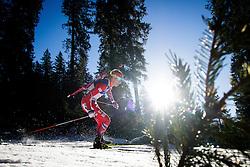 Johannes Thingnes Boe (NOR) during Men 15 km Mass Start at day 4 of IBU Biathlon World Cup 2015/16 Pokljuka, on December 20, 2015 in Rudno polje, Pokljuka, Slovenia. Photo by Ziga Zupan / Sportida