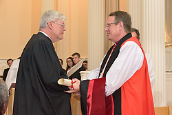Rt. Rev. Kenneth A. Kearon Conferral Divinitatis Doctor. A Service of Evensong Together with the Conferral of Honorary Degrees. 20 October 2015. Berkeley Divinity School at Yale University.
