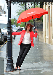 Scottish Labour leader Kezia Dugdale after a press conference at the Rutherglen Town Hall, Glasgow.