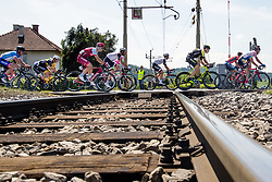 Cyclists crossing railroads during 4th Stage of 25th Tour de Slovenie 2018 cycling race between Ljubljana and Kamnk (155,2 km), on June 14, 2018 in  Slovenia. Photo by Matic Klansek Velej / Sportida